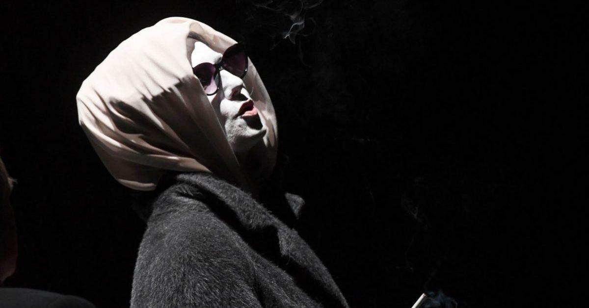 SPETTACOLI BRESCIA TEATRO GRANDE PROVA GENERALE  VIAGGIO MUSICALE ALL'INFERNO  NELLA FOTO SCENA  10/10/2018 REPORTER FAVRETTO
